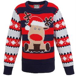 Jultröja Rudolf för barn