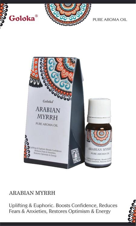 Arabian Myrrh, Myrra Doftolja, 10ml Goloka
