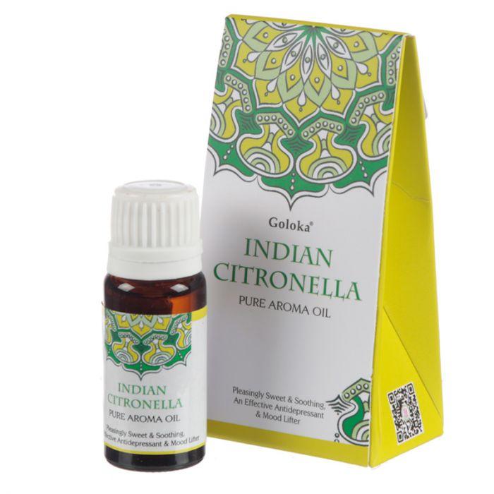 Indian Citronella, Doftolja, 10ml Goloka