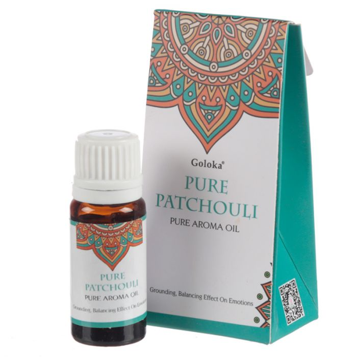 Pure Patchouli, Doftolja, 10ml Goloka