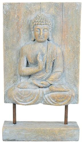Buddha, Relief på stativ