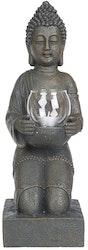 Buddha, Staty med värmeljushållare