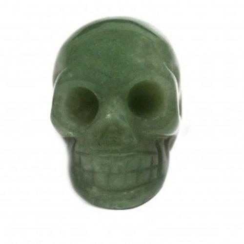 Dödskalle i Jade