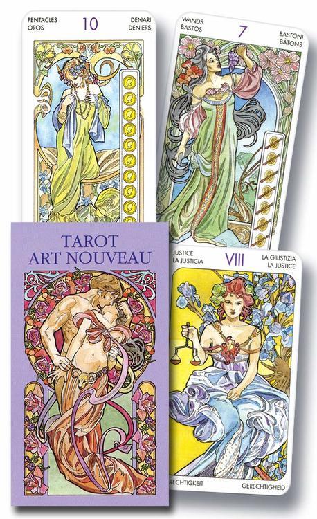 Art Nouveau ,Tarotkort mini
