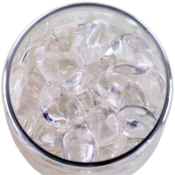 Bergkristall, Trumlade stenar