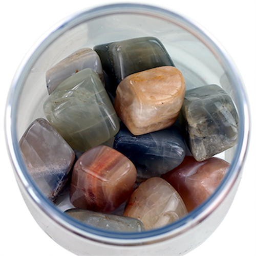 Månsten, Trumlade stenar