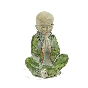 Bedjande munk, Figurin