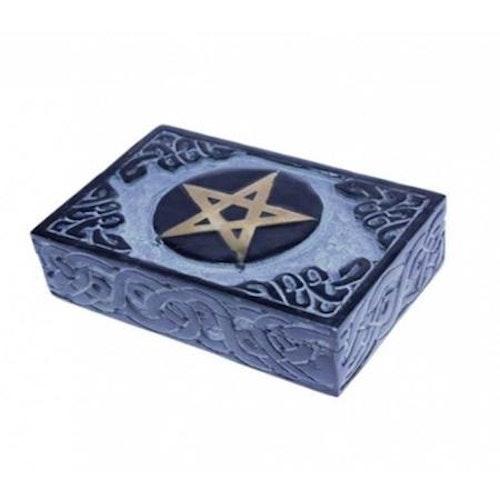 Ask för Tarotkort i täljsten, Pentagram
