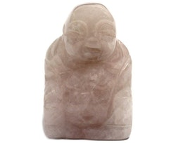 Buddha i Rosenkvarts