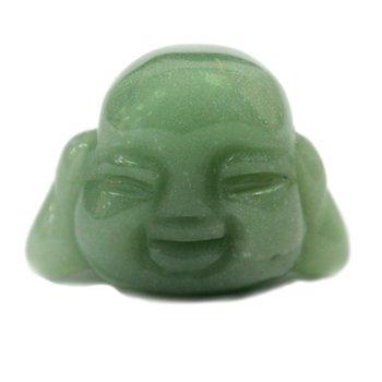 Buddhahuvud i Jade