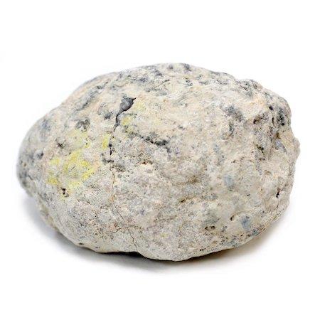 Kristallgeod 8-9 cm, Vit Kalcit