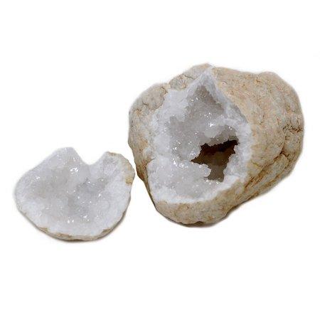 Stor Kristallgeod, Vit Kalcit