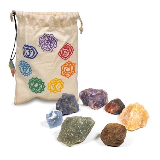 Chakrastenar i påse, Råa