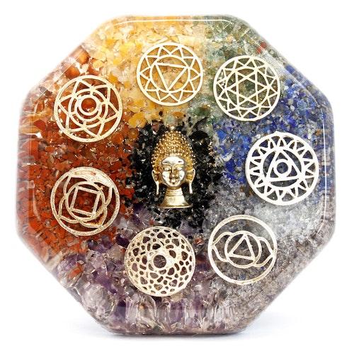 Orgonitplatta, Buddha Chakra