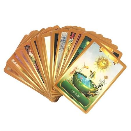 Energy Oracle Cards, Orakelkort
