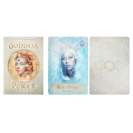 Goddess Power Oracle Cards, Orakelkort