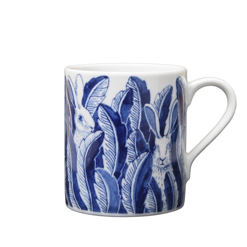 2:a-sortering Hares in hiding mugg blå 35 cl