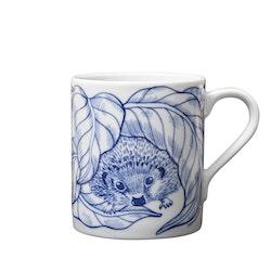 2:a-sortering Hedgehogs awakening mugg blå 35 cl