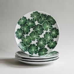 4-p Daggkåpa assiett grön Ø 21 cm