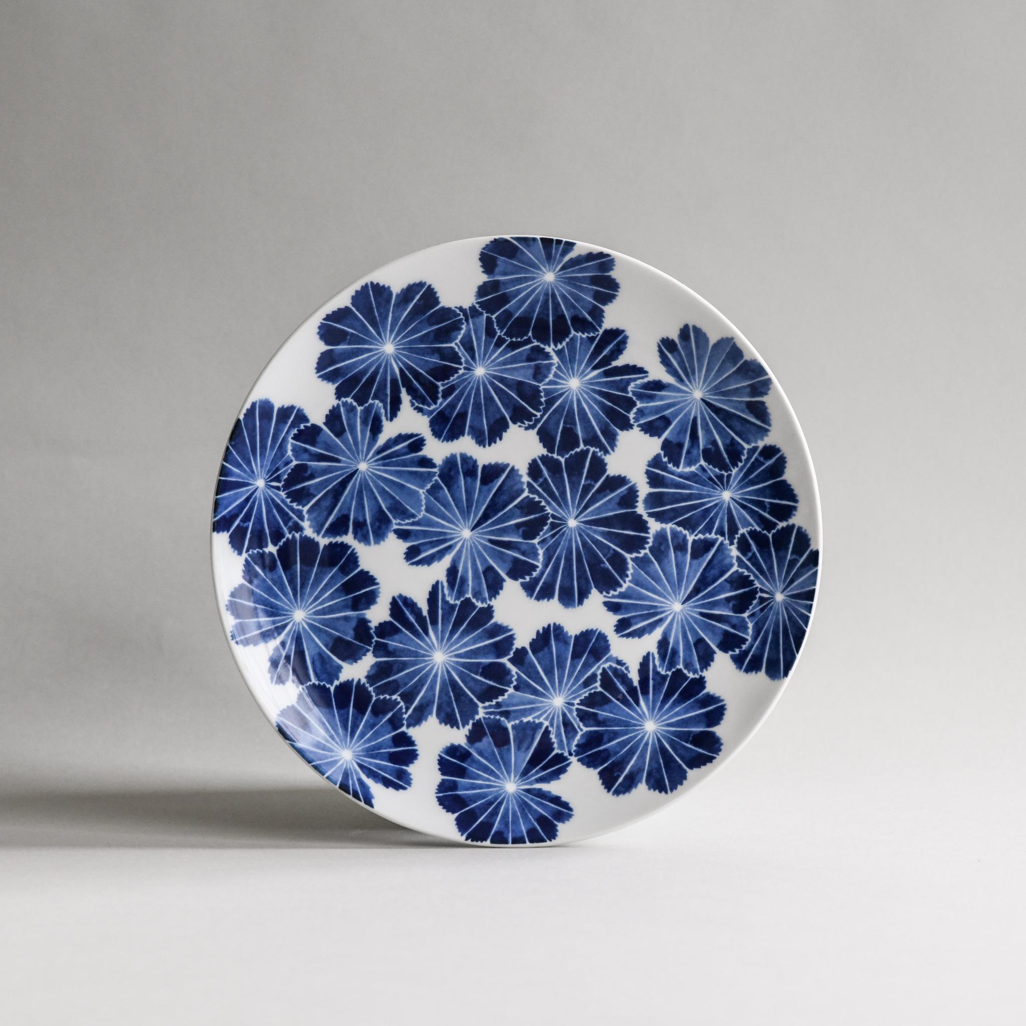 Daggkåpa assiett blå Ø 21 cm