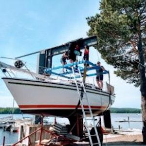 Sjösättning/upptagning, ej medlem