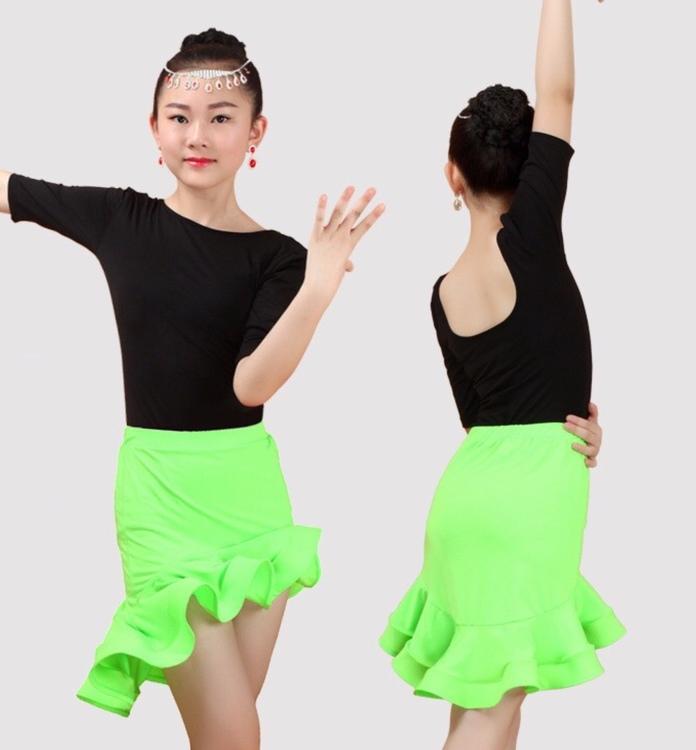 Set kjol + topp strl 125-135cm, två färger