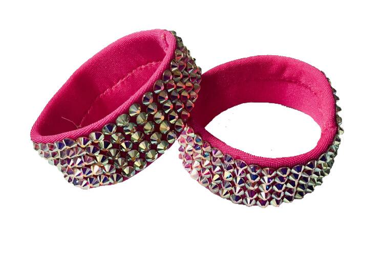 Breda armband rosa