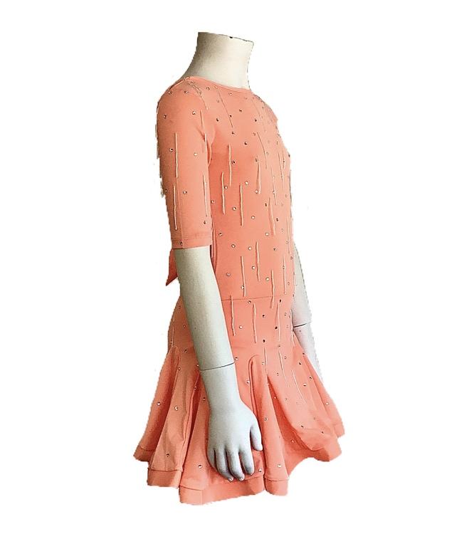 Latinklänning strl 130cm