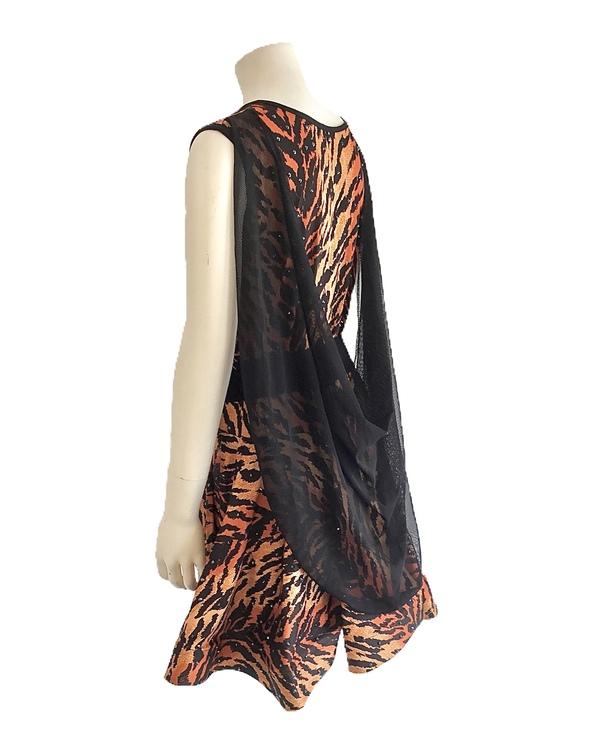 Stenad klänning strl 150-160cm