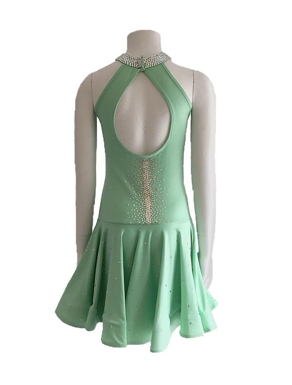 Stenad klänning i strl 150-160cm