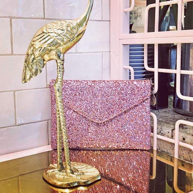Gala Evening Clutch Pink