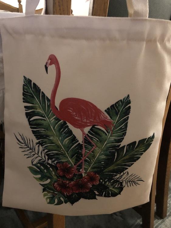 Tygpåse Flamingo eller Ananas