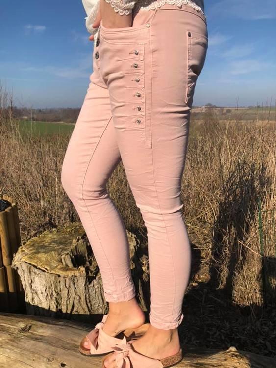 Jeans med bling
