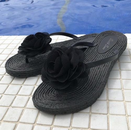 Flip flop Svart