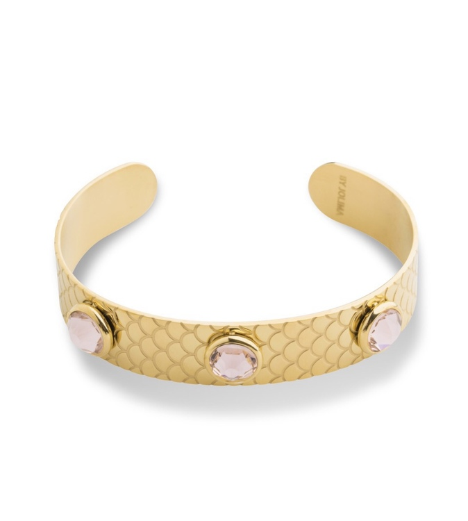 Samos Bangle Vintage rose  Guld