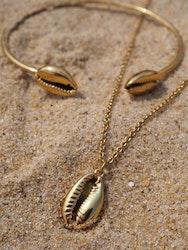 Shell Halsband Guld
