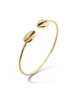 Shell Armband Guld