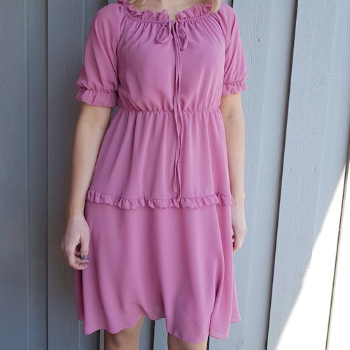 Brooklyn Dress Rose