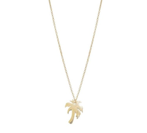 Palm Halsband Guld
