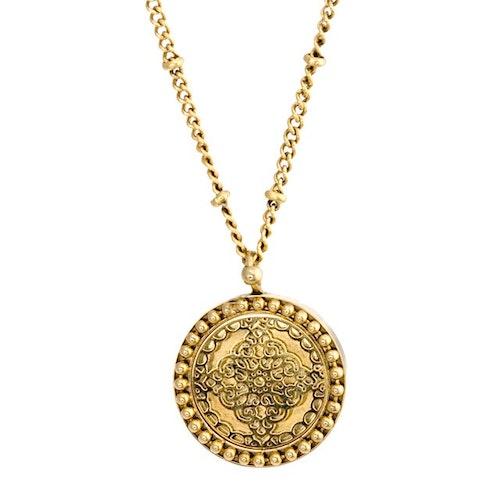 Steffie coin Halsband Guld