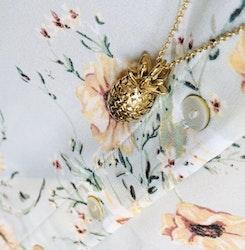 Pineapple Halsband Guld