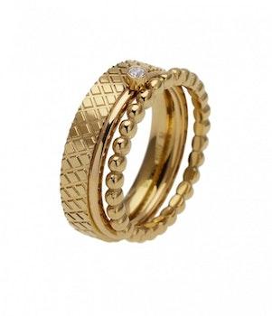 Brook Ring Guld