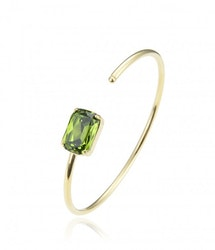Celia Bangle Olive/Green