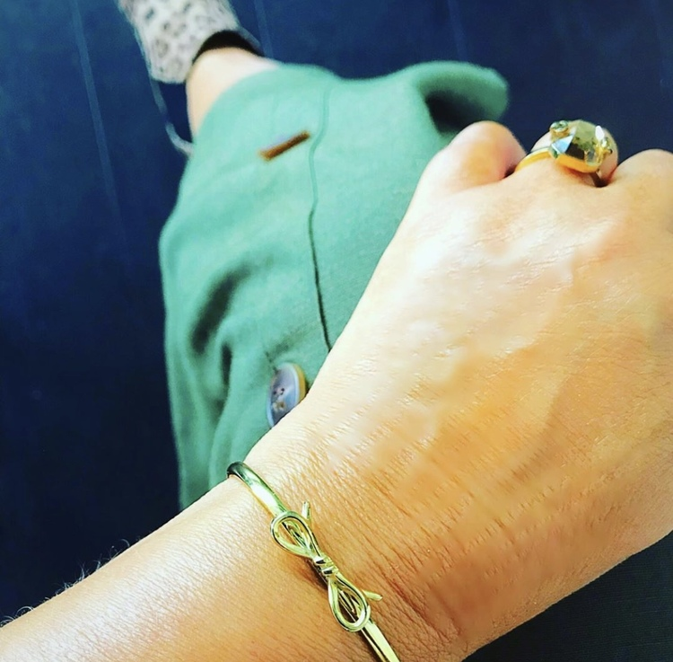 Molly Bangle Mini Guld