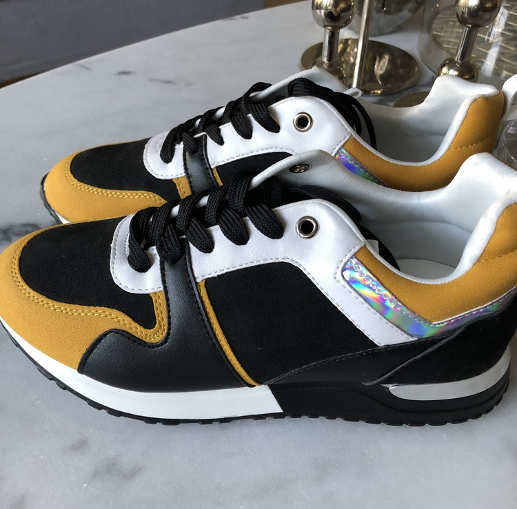 Sneakers Gul