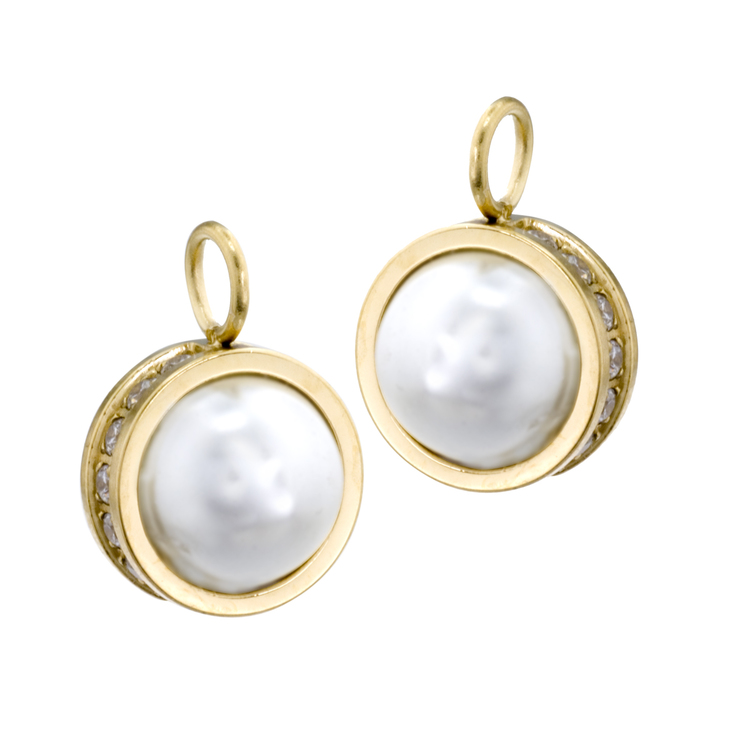 Chloe pearl Creol Gold