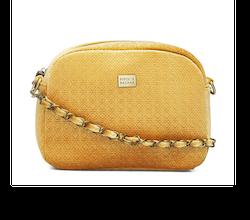 Solar Cross Bag Velvet Mustard