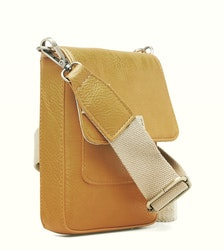 Stile Saddle Cross Bag Mustard