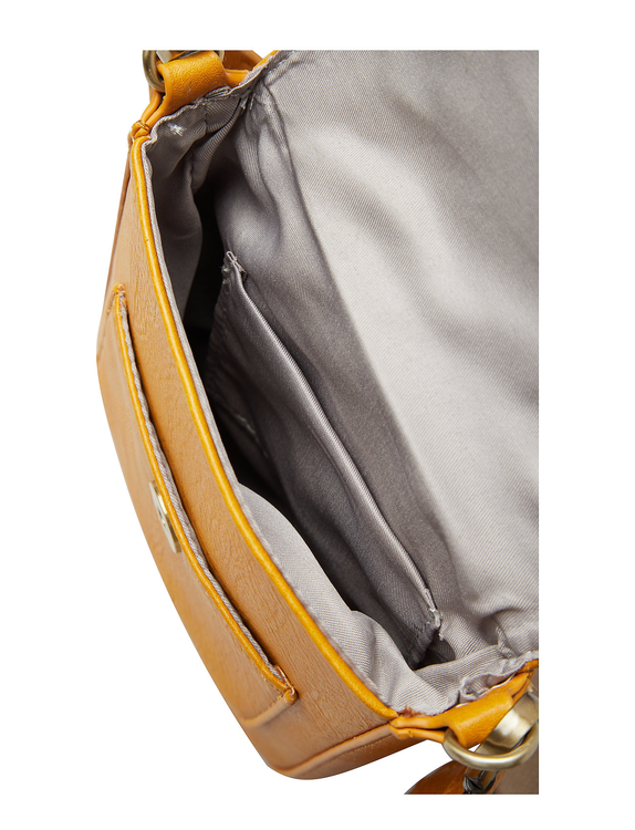 Stile Saddle Cross Bag Mustard