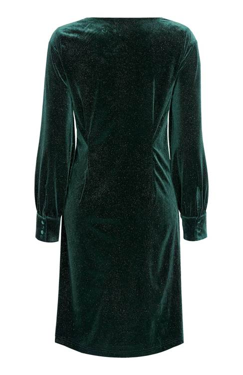 Olive Dress Deep Green